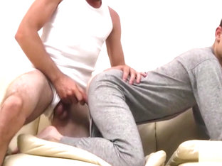 Sleeping SON wakes up to DADDY&#039_s COCK in his ASS