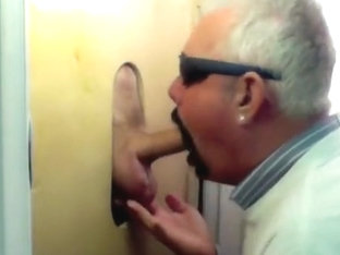 Gloryhole New Visitor Big Cock