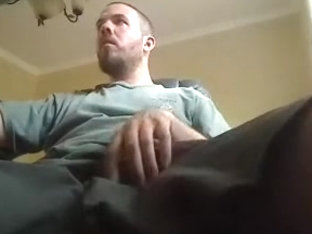 Nice fagot is beating off at home and memorializing himself on web camera