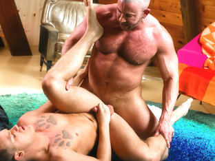 Brandon Wilde & Shay Michaels in Guys Only Retreat Video - DylanLucas