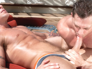 Trenton Ducati & Brenden Cage in Trunks 7 Scene
