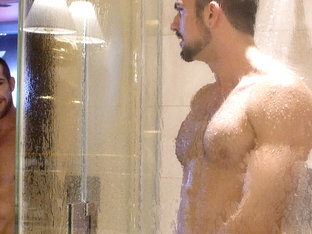 Tryp Bates & Mason Lear in Yoga Shower Creep - ShowerBait