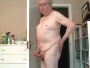 Grandpa stroke on cam 11