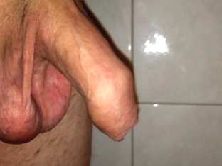 Playing with my uncut cock - no cum 01.03.2016