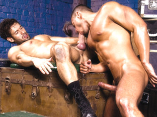 Alexander Garrett & Angelo Marconi in Nasty Fuckers, Scene #03