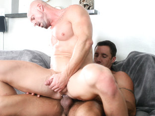 Mitch Vaughn & Nick Capra in One Big Horny Family Video