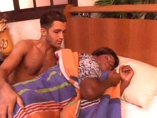 Hot interracial fuck with ebony crossdresser