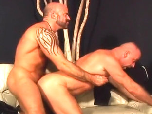 Steamy Gay Sex With Two Hairy Bears