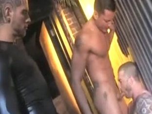 Incredible male in hottest hunks homo sex clip