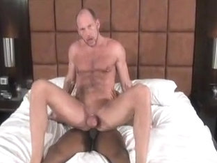 Fabulous male in horny bareback, hunks homo sex movie