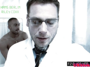 Hunky doctor rimming and blowing patient
