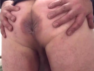 Spanking my own ass