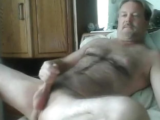 daddy fucking himself on cam