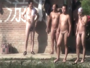 Chinese naked swimming(08/07/2016)