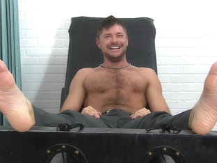 Jack Andy's First Tickling Experience - Jack - MyFriendsFeet