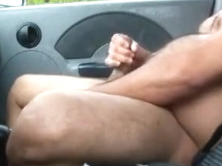 mandy in car