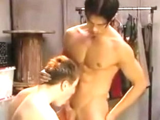 Asian Hunk Fucked By White Hunk