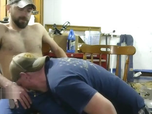 Hardworkin Redneck Guys Having Some Country Fun on Cam