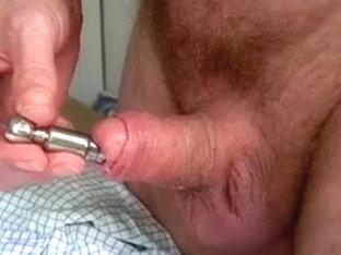 Cum in penis plug