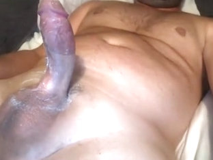 Handsome fag is playing in the apartment and shooting himself on web camera