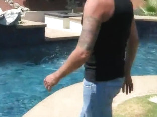 Pool man becomes daddy lover