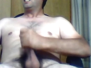 Hot argentinian macho with thick cock