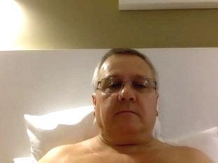 Dad Jacking His Dick