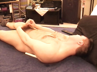 Young Amateur Johnny Jerks Off - RamjetVideo