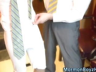 Mormons strip and stroke
