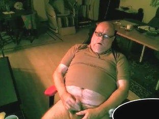 grandpa stroke and cum on cam 3