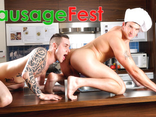Trystan Bull & Johan Lapointe in Sausage Fest XXX Video