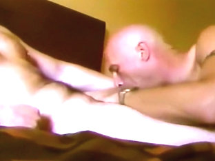 Horny Gay Fellow Pleasing Each Other On Bed