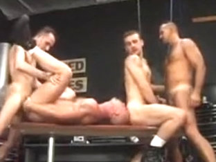 Lance Gear, Chad Hunt garage foursome