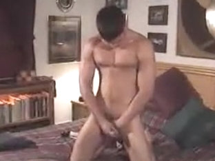 Crazy male in incredible str8 gay sex scene
