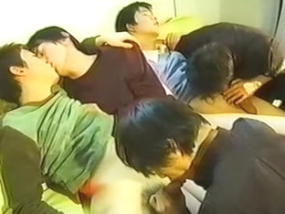 Young Japanese 5 Boy Orgy 1 Of 4