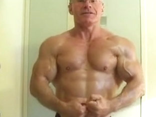 Muscle Jock Hairy Asshole