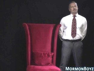 Mormon gets ass spanked