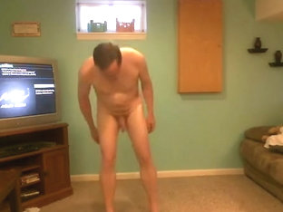 Naked Workout with Happy Ending