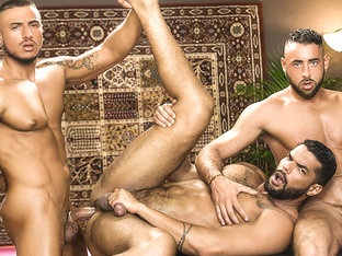 Klein Kerr & Lucas Fox & Massimo Piano in Telenovela Part 2 - MenNetwork