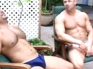 Hot gay bears drive each other mad