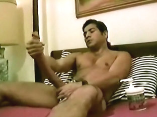 Giant cock in gay threesome