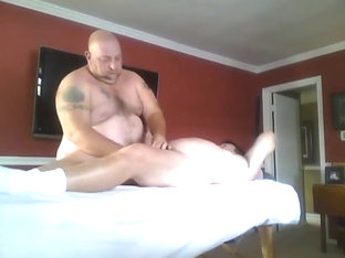 Big Bear Massage Prostate and Hand Job