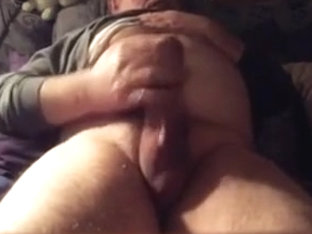 Thick Cock man Shoots a Load