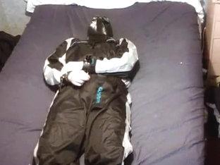 My rebreathing hood.