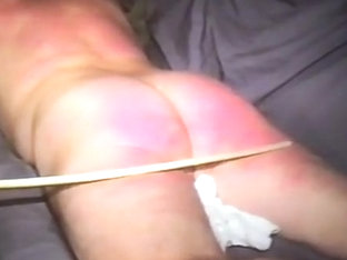triathlete receives spanked and caned harder, pt.two