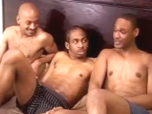 Steamy hot gay black sex party