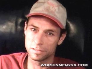 WorkinmenXXX Video: Shy Guy Stroking Cock