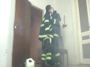 Hot gay firefighters get naughty