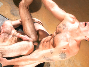 Billy Santoro & Derek Atlas in Auto Erotic Part 1, Scene 01 - HotHouse