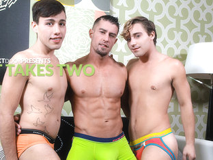 Cody Cummings & Tyler Morgan & Blake Stone in It Takes Two XXX Video